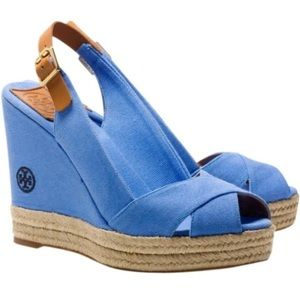 Tory Burch Beller Wedge Sandal - NEW!